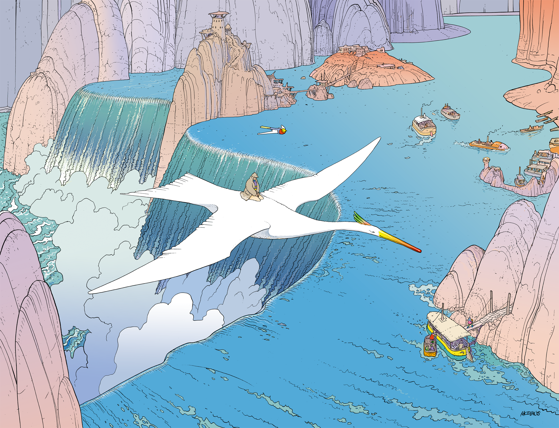 Inspired by Moebius: The wonders of the Journey